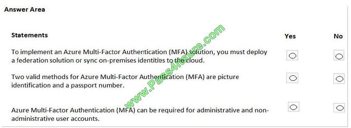pass4itsure az-900 exam question q7